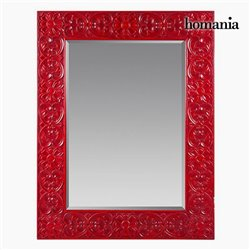 Miroir Carré Rouge - Collection Be Yourself by Homania