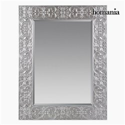 Miroir Carré Argent - Collection Queen Deco by Homania