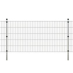 Panneaux et poteaux de clôture 2D pour jardin 2008x2030 mm 22 m