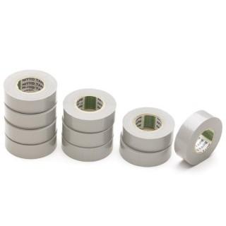 Nitto - Ruban Adhesif Isolant - Gris - 19 Mm X 10 M