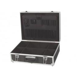 Valise Avec Bords En Aluminium 455 X 330 X 152 Mm Noir