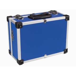 Valise Aluminium 320 X 230 X 155 Mm - Bleu