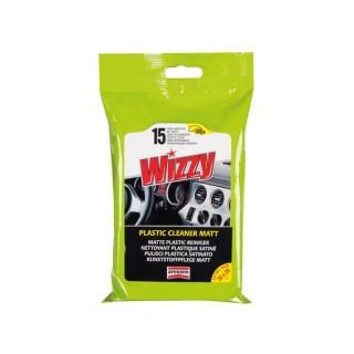 Wizzy Nettoyant Plastique Satiné - 15Pcs/Sachet