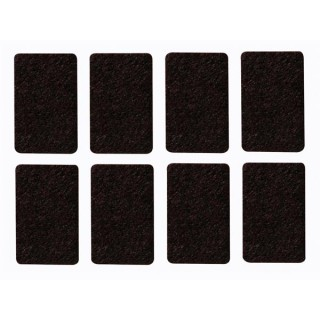 Bande Feutre - Rectangulaire 30 Mm X 48 Mm - 8 Pcs