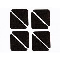 Bande Feutre - Triangulaire 60 Mm X 44 Mm - 8 Pcs