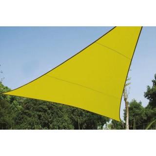 Voile Solaire - Triangle - 3.6 X 3.6 X 3.6 M - Couleur: Vert Lime