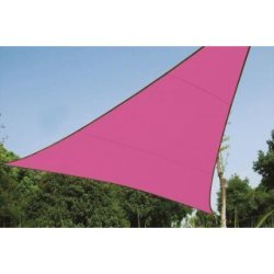 Voile Solaire - Triangle - 5 X 5 X 5 M - Couleur: Fuchsia
