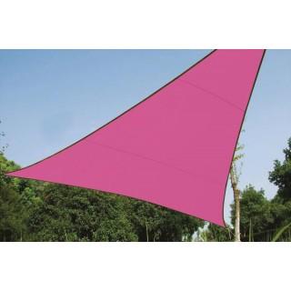 Voile Solaire - Triangle - 5 X 5 X 5 M - Couleur: Fuchsia