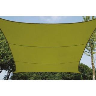 Voile Solaire - Carré - 5 X 5 M - Couleur: Vert Lime