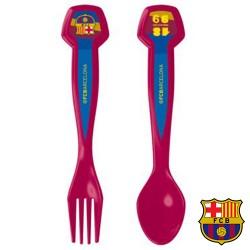 Jeu de 2 Couverts FC Barcelona