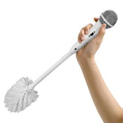 Brosse WC Microphone
