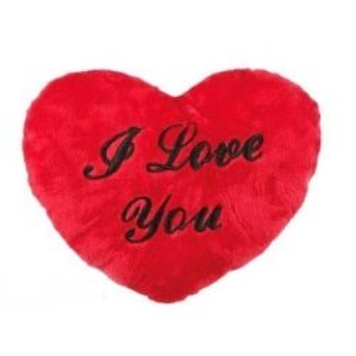 Coeur Peluche I Love You 35 cm