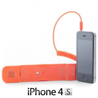 Écouteur Antiradiation pour iPhone - Orange