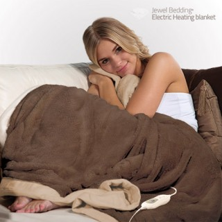Couverture Polaire Chauffante Electric Heating Blanket 160 x 120 cm
