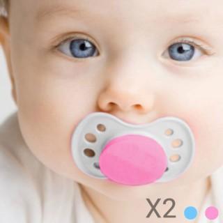 Tétines Bébé (pack de 2) - Bleu