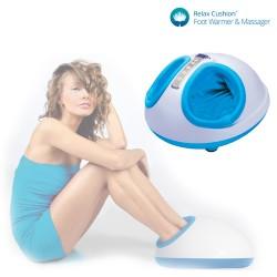 Appareil de Massage pour Pieds Thermique Relax Cushion