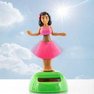 Danseuse hawaïenne solaire