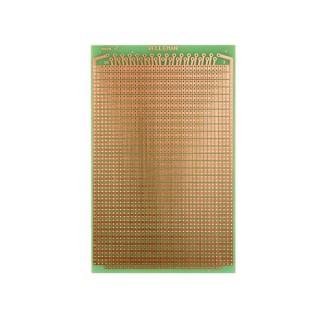 EUROCARD PASTILLE 2 TROUS - 100x160mm - FR4 (25pcs/boîte)