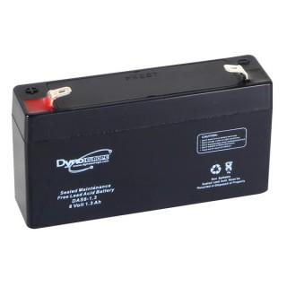 ACCU ACIDE-PLOMB 6V-1.3Ah 98x25x56mm