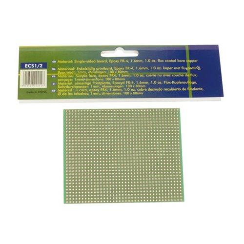 Eurocard Pastille 1 Trou -100X80Mm - Fr4 (1Pc/Bl)