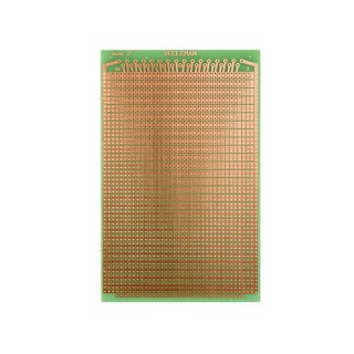 EUROCARD PASTILLE 2 TROUS - 100x160mm - FR4 (1pc/bl)