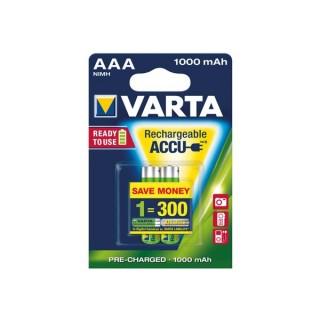 ACCU NiMH HR03 MICRO VARTA 05703.301.402 1.2 V 1000 MHA - 2 PCS / BLISTER