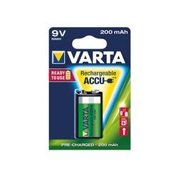 ACCU NiMH E-BLOC 9 V 200 MAH 56722.101.401  - 1 PC / BLISTER