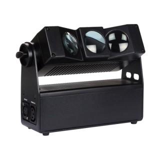 FREELED 33B - 3 x LED RGBW DE 10 W À PILOTAGE DMX - ALIMENTATION PAR PILES