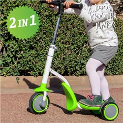 Trottinette-Tricycle Boost Scooter Junior 2 en 1 (3 roues)