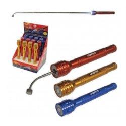 Torche 6 Led Avec Doigt Magnetique Extensible