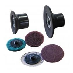 Disques Abrasifs + Porte-Disques 1/4 Tour
