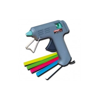 Pistolet A Colle Ø 8 Mm +  Colle Multicolore