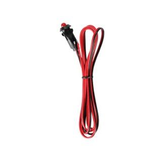 Led Clignotante - 12Vcc + Câble De 1M