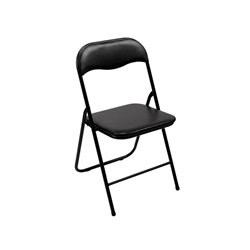 Foldable Chair - Black