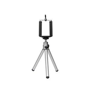 Trépied Téléscopique Pour Caméra - Avec Support Pour Smartphone