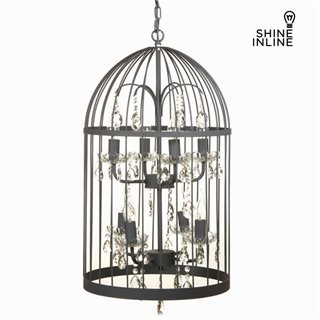 Lustre cage gris by Shine Inline