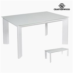 Table extensible blanche by Craftenwood