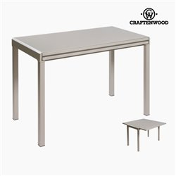 Table livre gris by Craftenwood