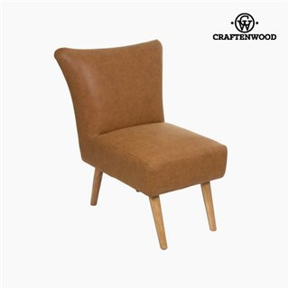 Fauteuil cuir synthétique - Collection Vintage by Craftenwood