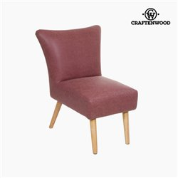 Fauteuil en cuir synthétique - Collection Vintage by Craftenwood