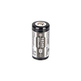 Xtar - Accu Li-Ion Cylindrique 3.7 V - 650 Mah - 16340