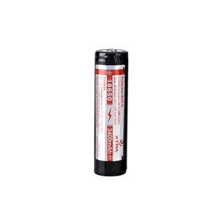 Xtar - Accu Li-Ion Cylindrique 3.6 V - 3400 Mah - 18650