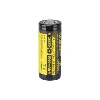 Xtar - Accu Li-Ion Cylindrique 3.6 V - 5000 Mah - 26650