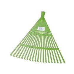 Balai à feuilles/gazon plastique largeur 47 cm sans manche
