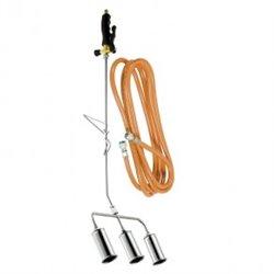 Désherbeur thermique 3 bruleurs Diamètre 45mm + tuyau 5 m BIOPROFLAMME