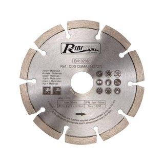 Disques Diamantés Acier-Matériaux Diamètre 125 mm
