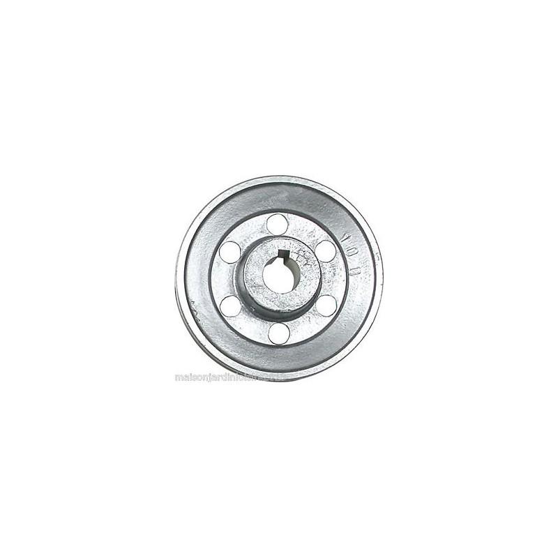 Poulies en aluminium Axe 24 mm Poulie 120 mm