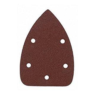 Lot de 10 patins abrasifs pour ponceuse triangulaire PRPTE/110