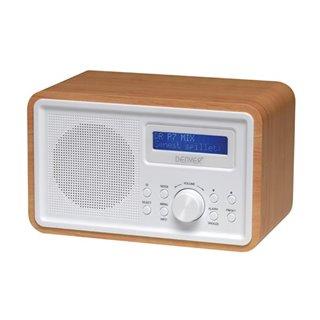 Dab-35 - Radio Dab+/Fm Avec Caisson En Bois