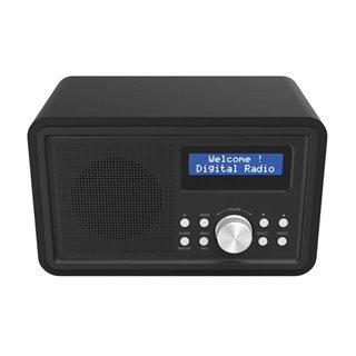 Dab-35Black - Radio Fm/Dab+ Avec Caisson En Bois - Noir